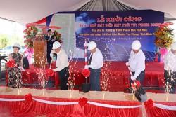 Khởi công dự án điện Mặt Trời Tuy Phong