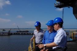 Vấn đề nạo vét tại cảng than thuộc Trung tâm Điện lực Duyên Hải