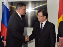Việt Nam ủng hộ Nga mở rộng hoạt động dầu khí trên Biển Đông