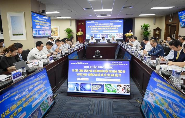"""Hội thảo khoa học """"Cơ chế, chính sách cho các nhà đầu tư IPP phát triển nguồn điện tại Việt Nam - Những vấn đề đối với nhà đầu tư"""""""
