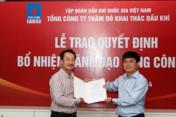 Ban điều hành PVEP có thêm nhân sự mới