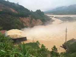 Xả nước tại Thủy điện Hố Hô tuân thủ quy định an toàn kỹ thuật