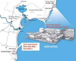 Chuyển đổi mặt bằng dự án điện hạt nhân Ninh Thuận