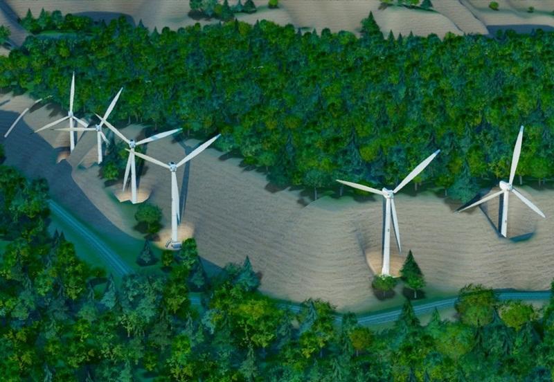 Chấp thuận chủ trương đầu tư dự án điện gió Nam Bình 1 (Đắk Nông)