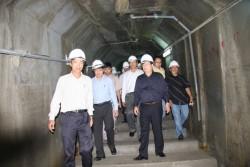 Hội đồng nghiệm thu Nhà nước kiểm tra đập Thủy điện Sông Tranh 2