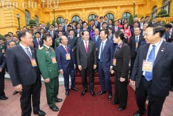 Chủ tịch nước gặp mặt đại biểu tiêu biểu ngành Than