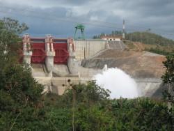 EVN đang giảm xả nước tại các hồ thủy điện