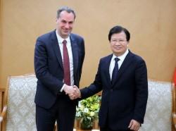Việt Nam đánh giá cao thiết bị Siemens trong các dự án điện