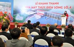 Khánh thành dự án Thủy điện Sông Lô 4