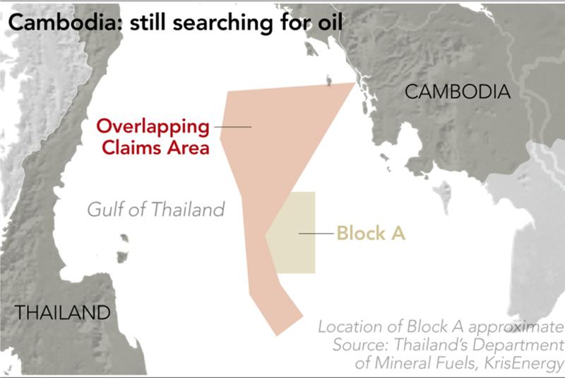 Dầu khí và 'giấc mơ sống còn' của Campuchia