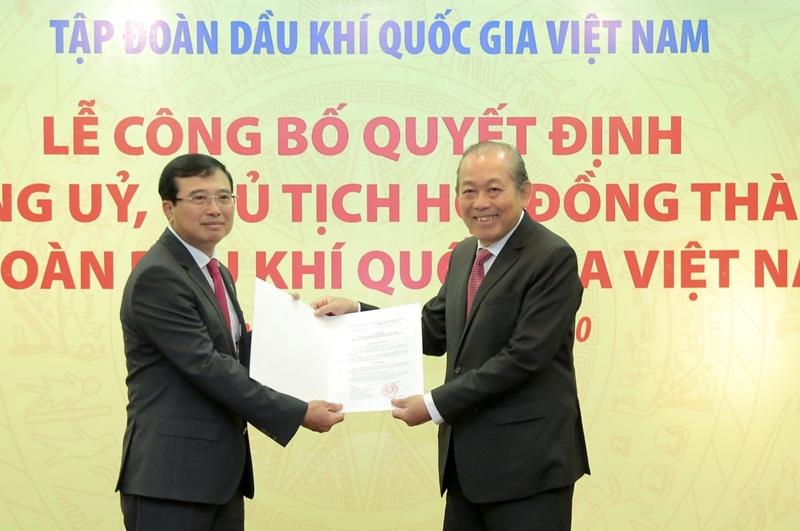 Những thách thức nào đang chờ tân Chủ tịch Tập đoàn Dầu khí Việt Nam?