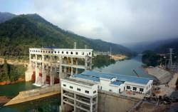 Tổ máy số 1 Nhà máy Thủy điện Bảo Lâm phát điện