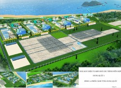 Chuẩn bị khởi công dự án Trung tâm Điện lực Dung Quất