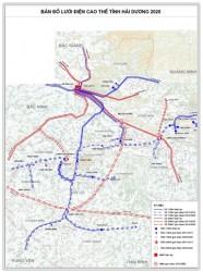 Quy hoạch phát triển điện lực tỉnh Hải Dương giai đoạn 2011 - 2015, có xét đến 2020