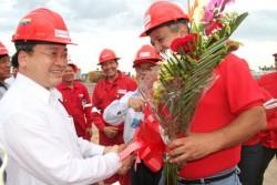 Bắt đầu khoan giếng dầu đầu tiên ở Venezuela