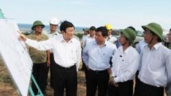 Chủ tịch nước Trương Tấn Sang khảo sát địa điểm xây dựng Nhà máy điện hạt nhân