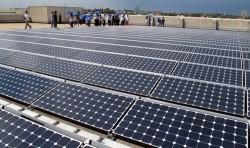 Hệ thống điện mặt trời lớn nhất Việt Nam đi vào hoạt động