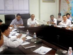 Tổng giám đốc PVN giao ban tại Công trường Nhiệt điện Vũng Áng 1