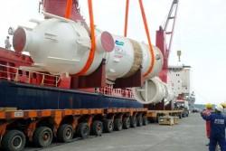 Doosan Vina xuất 4.000 tấn thiết bị công nghệ cao đến Canada và Israel