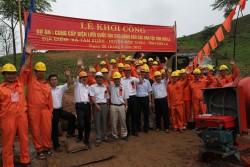 Khởi công Dự án cung cấp điện lưới quốc gia cho đồng bào các dân tộc tỉnh Sơn La