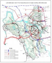 Quy hoạch phát triển Điện lực thành phố Hà Nội giai đoạn 2011-2015, có xét đến 2020