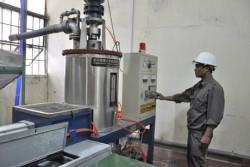 Cơ điện Uông Bí đưa công nghệ đúc kim loại khuôn mẫu cháy vào sản xuất