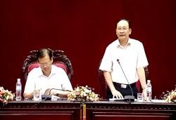 Tập đoàn Dầu khí Việt Nam làm việc với UBND tỉnh Thái Bình
