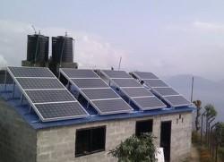Bùng nổ năng lượng mặt trời tại Nepal