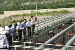 Mô hình xử lý nước thải mỏ than tự động tiết kiệm, thân thiện môi trường