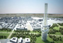 'Tháp Quyền lực' ứng dụng năng lượng gió tại Đài Loan