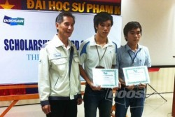 109 Doosan Vina scholarships awarded across Vietnam
