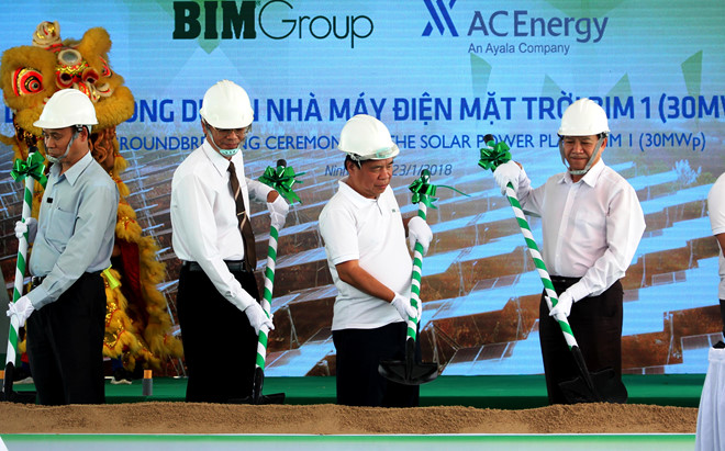 Starting construction of Solar Power Project BIM 1