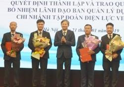 Công bố quyết định thành lập Ban quản lý dự án điện 1