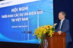 EVN shared information with the investors of wind power projects