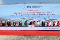 Khởi công xây dựng Nhà máy nhiệt điện Vĩnh Tân 4