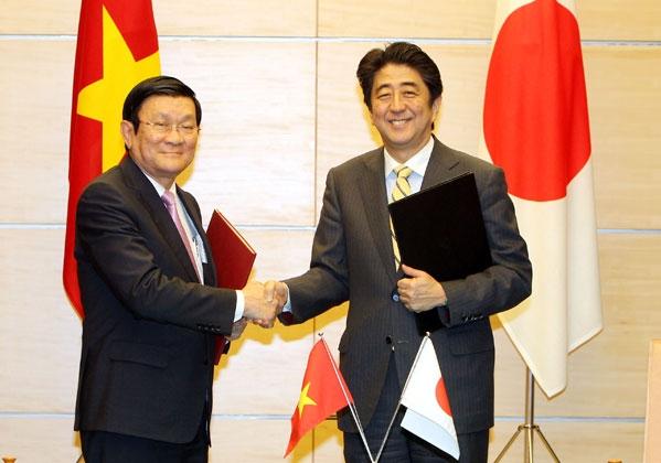 Việt Nam - Nhật Bản cam kết hợp tác về năng lượng và môi trường