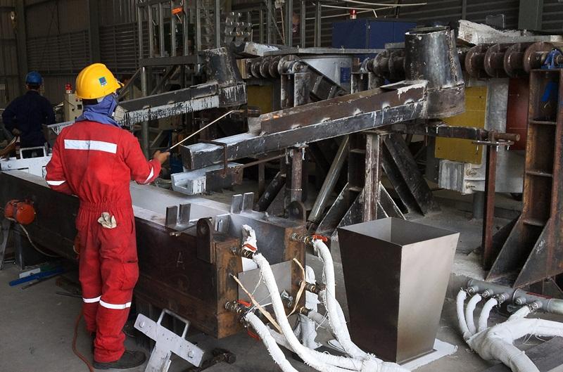 VPI cung cấp 85 tấn anode cho dự án mỏ Cá Tầm