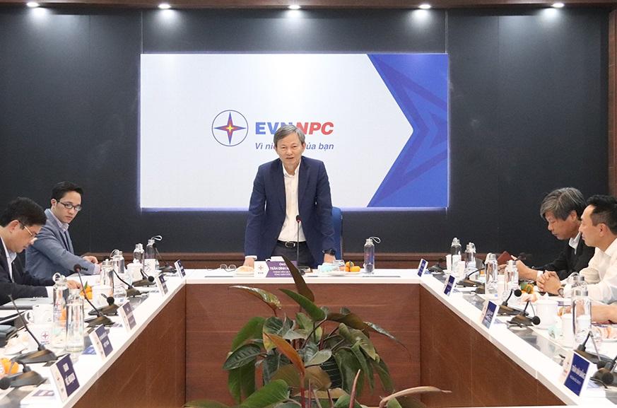 Tổng Giám đốc EVN làm việc với Công ty Điện lực Lào Cai