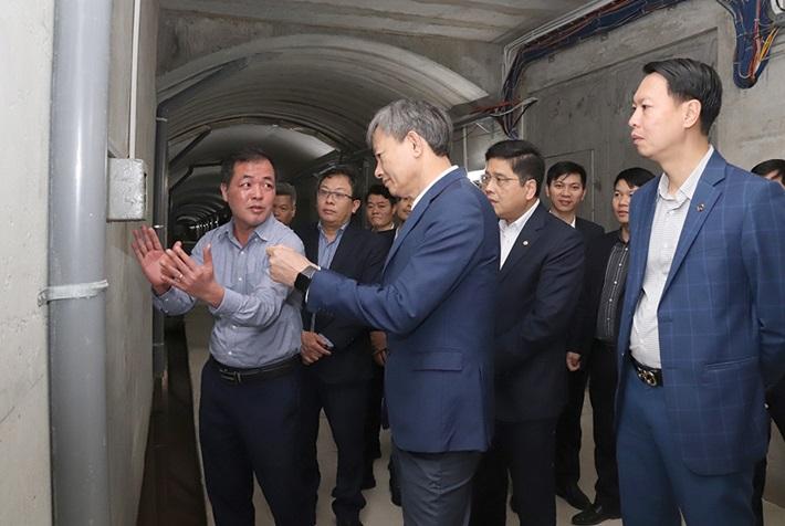 Tổng Giám đốc EVN làm việc tại Nhà máy Thủy điện Lai Châu