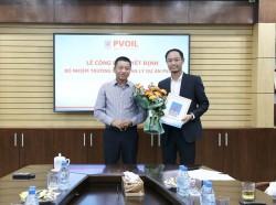 PVOIL bổ nhiệm Trưởng ban quản lý dự án