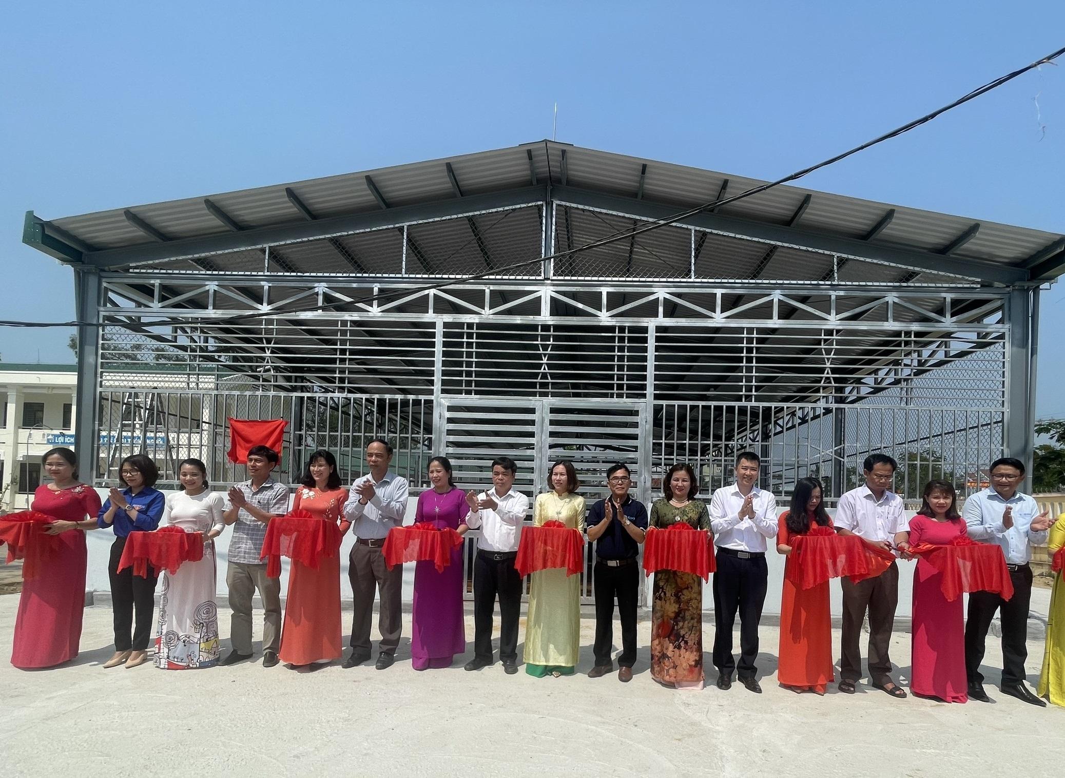 Khánh thành Bể bơi phòng chống đuối nước tại Quảng Ngãi do EVN tài trợ