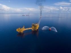 Mở cảng dầu khí ngoài khơi Sao Vàng - Đại Nguyệt