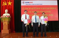 EVN CPC có Chủ tịch kiêm Tổng giám đốc mới