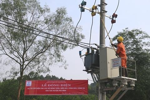 Thái Nguyên tiến gần mục tiêu 100% hộ dân có điện lưới
