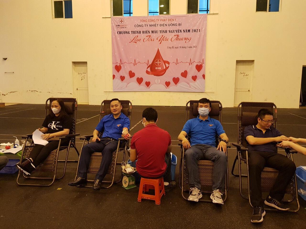 Tháng Thanh niên sôi động của tuổi trẻ Công ty Nhiệt điện Uông Bí
