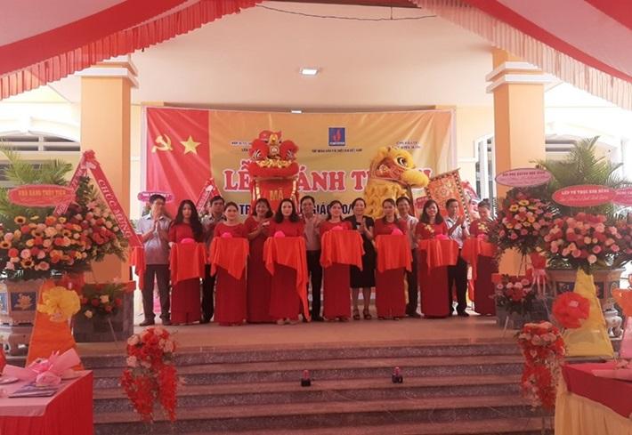 Khánh thành trường mẫu giáo tại Gia Lai do Vietsovpetro tài trợ