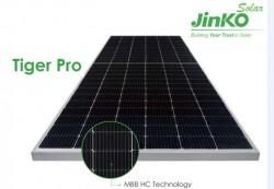 Tiger Pro 54P của JinkoSolar tiếp tục dẫn đầu thị trường điện mặt trời mái nhà