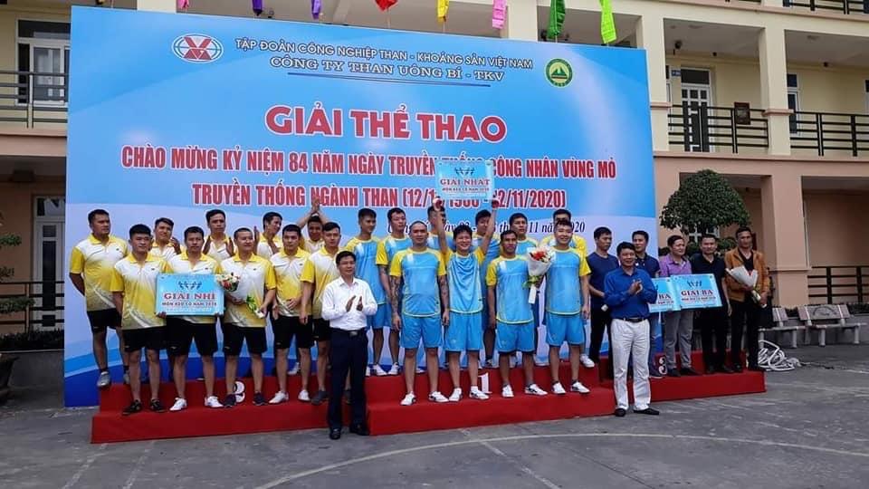 Than Uông Bí: Sôi nổi giải thể thao chào mừng ngày Truyền thống ngành Than
