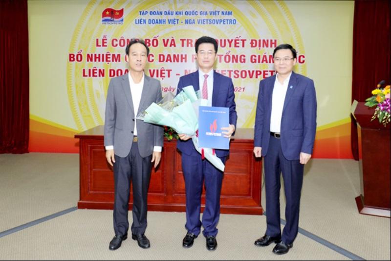Bổ nhiệm Phó Tổng Giám đốc Vietsovpetro