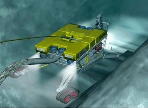 Công nghệ rải cáp điện ngầm dưới biển